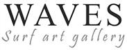 Waves Surf Art Gallery Logo