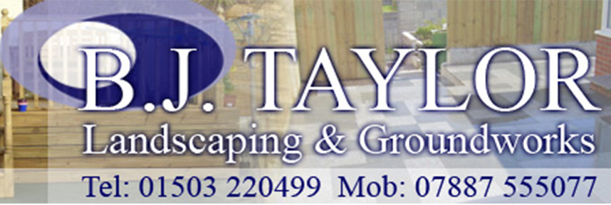 BJ Taylor Landscaping & Groundworks Logo