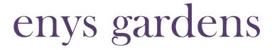 Enys Gardens Logo