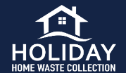Holiday Home Waste Collection Logo