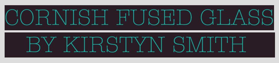 Cornish Fused Glass by Kirstyn Smith Logo
