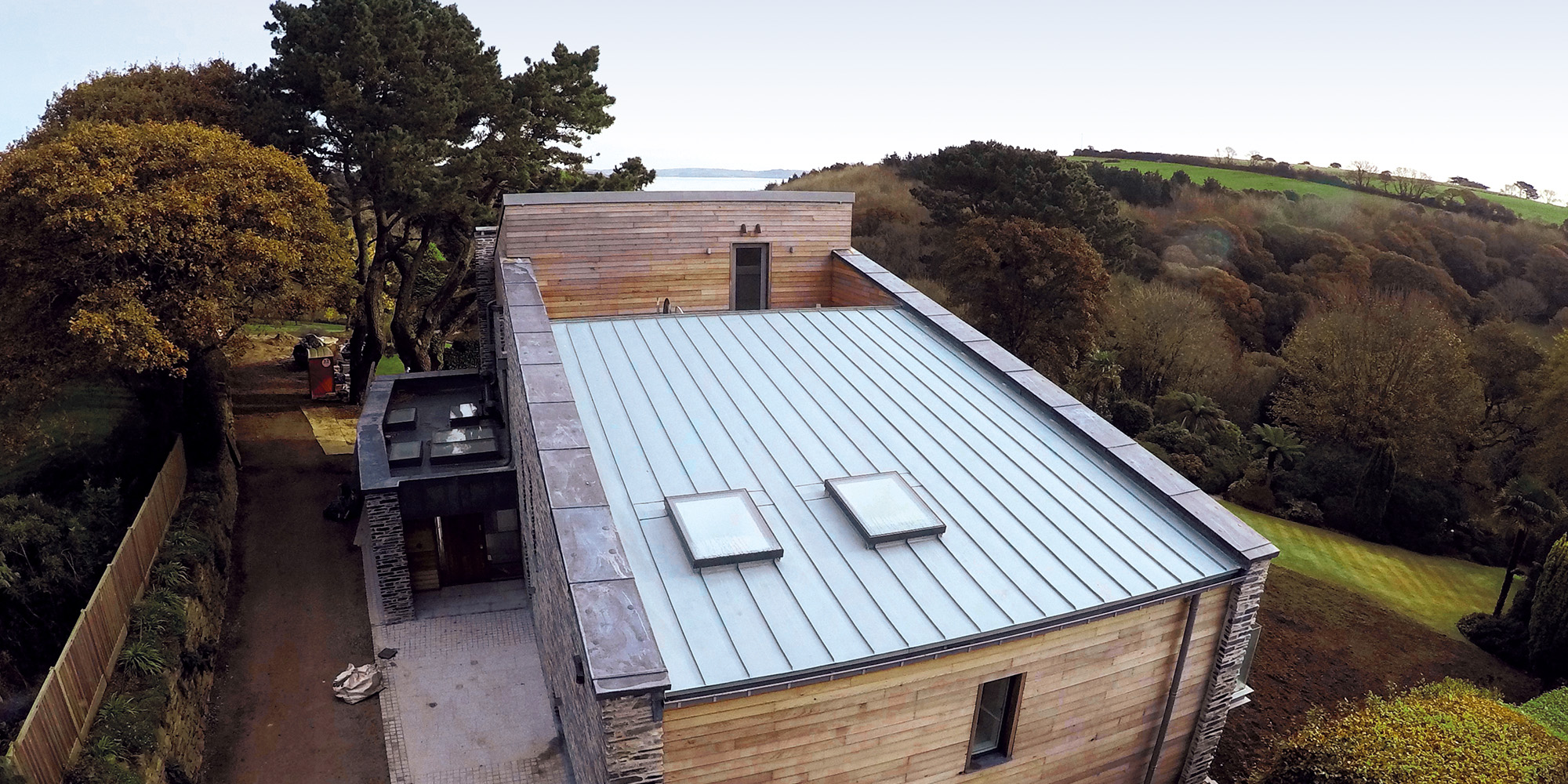 Raising The Roof With Help From Cornwall Zinc Roofing