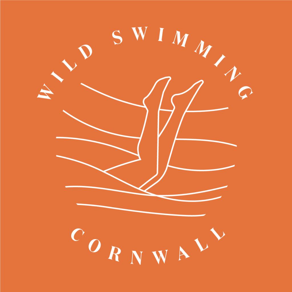 Wild Swimming Cornwall Logo
