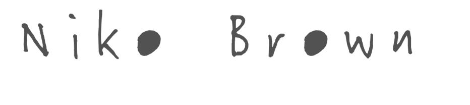 Niko Brown Logo